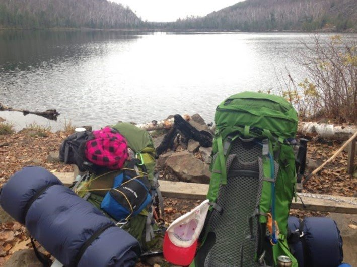 backpacking gear on a budget